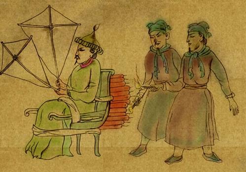 Les empereurs de Chine et laLune
