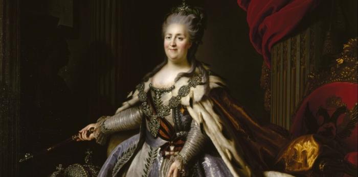 L'accès au pouvoir de Catherine II deRussie